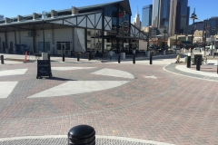 Farmers Market Dallas, TX Concrete Street Pavement and Pedestrian Facilities