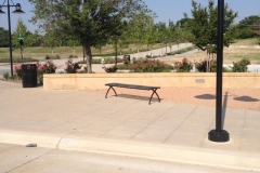 Lake Highlands Town Center Concrete Seatwall